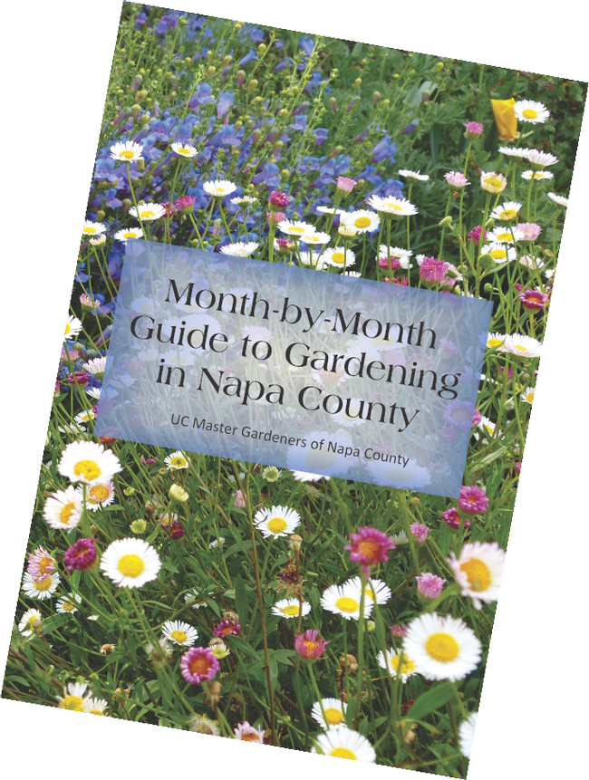 UC Master Gardeners of Napa County's new Month by Month guide contains a record-keeping section