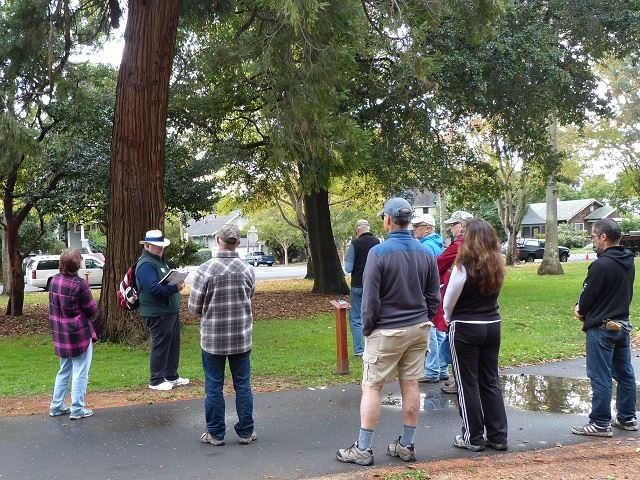 We have partnered with Napa Parks and Rec for Tree Walks in Fuller Park.