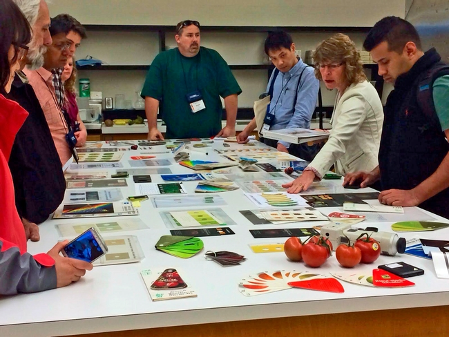 Diane Barrett Shows Produce Quality Evaluation Resourses at the 2014 Short Course