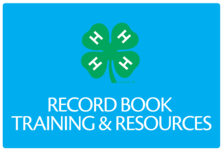 Record Book Trainings and Resources Button