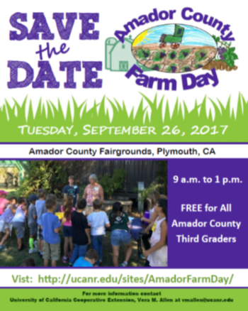 Farm Day Save the Date Flyer