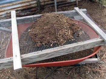 compost sift