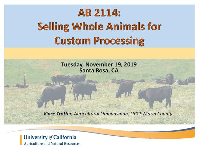 AB 2114 How-To Presentation