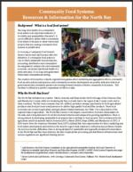 Comm Food Systems Factsheet cover