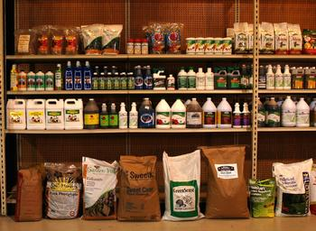 Fertilizers: so many choices Photo courtesy of Wells Brothers Farm