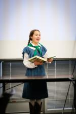 4-H Member giving an Interpretive Reading