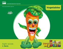 Read about vegetables