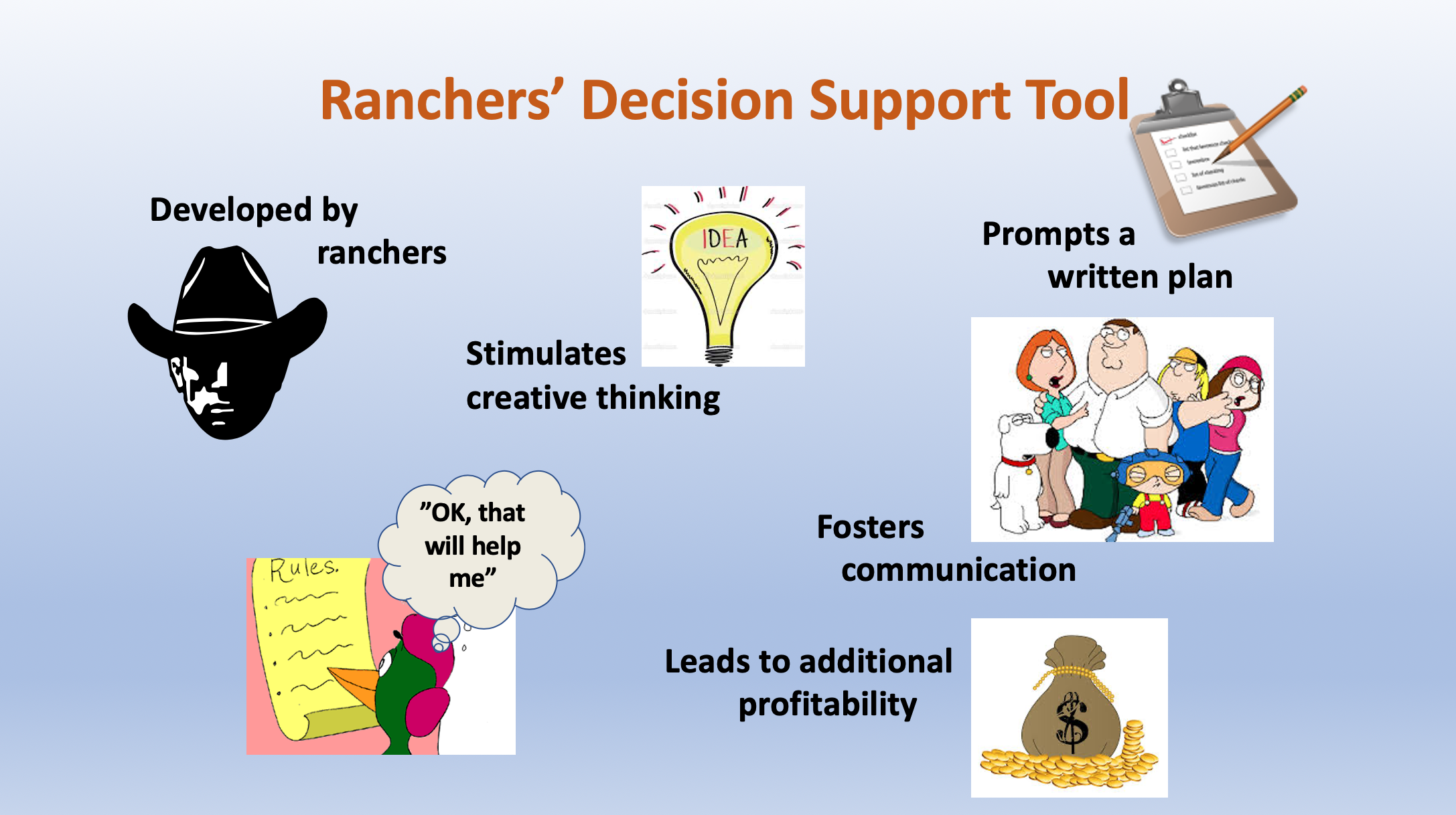 Ranchers' Decision Support Tool PP