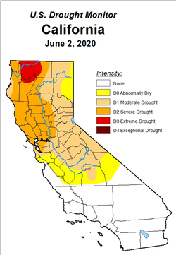 Per US Drought Monitor, we are now in Severe Drought