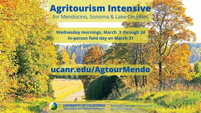 Agritourism Intensive graphic
