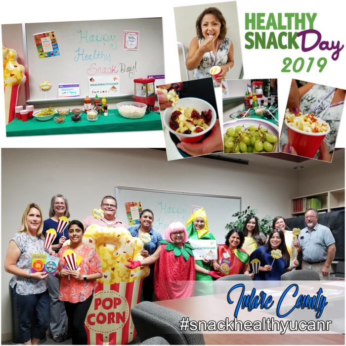 Healthy Snack Day 2019 collage