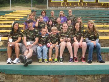 Tuolumne County 4-H Success in The American Cancer Society Relay For Life