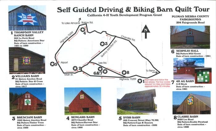 Barn Quilt Tour Teaches History and Increases Tourism to a Small Rural Town