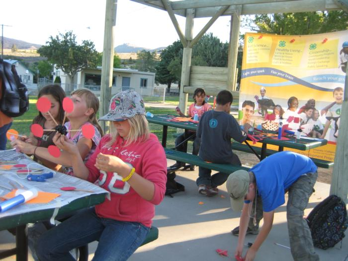 Inyo County 4-H is Wired for Wind