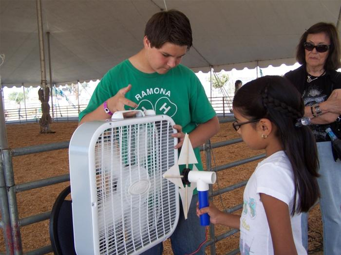 Riverside County 4-H National Youth Science Day- The Power of Wind