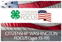 Citizenship Washington Focus is an educational conference for youth ages 15 to 19.