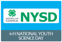 4-H National Youth Science Day is the world's largest youth-led science experiment.