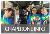 Chaperone Information for overnight 4-H trips.
