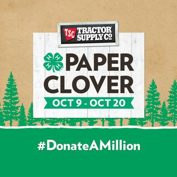 2019 Fall Tractor Supply Paper Clover