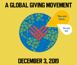 #Giving Tuesday Dec. 3, 2019