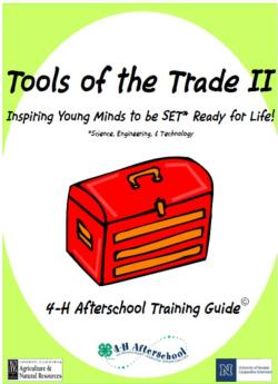 Tools of the Trade II Logo
