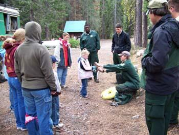 Siskiyou and Shasta 4-Hers Learn About Fire