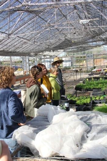 Urban Farm Tour Stop at Sunnyside Organics, Richmond, California