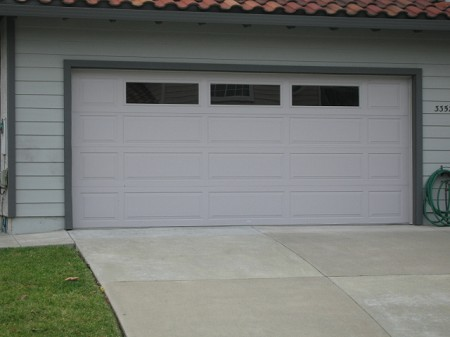 garage car door glass