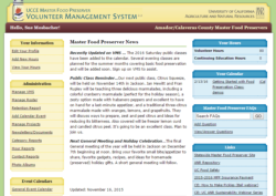 Volunteer Management System (VMS) Help