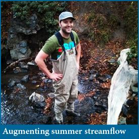 Fish habitat response to streamflow augmentation