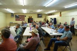 Tuolumne County at UCCE workshop on forest recovery 10/17/2013