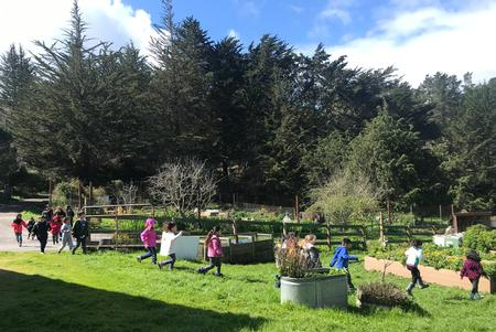 Classroom Tour in Garden with Educator Holly