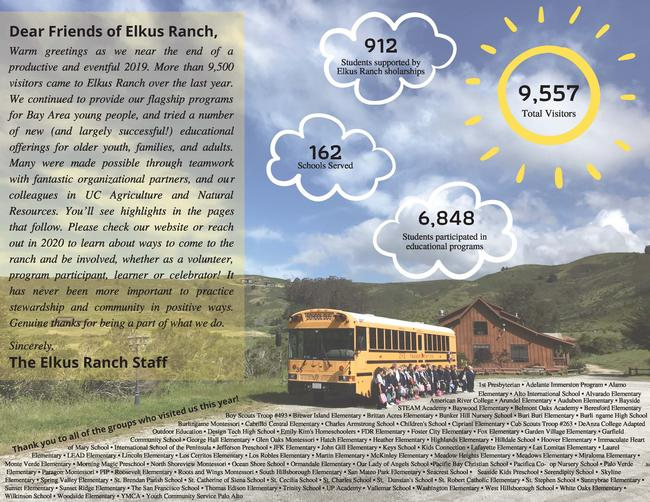 UC Elkus Ranch Annual Report 2019 _Page 2