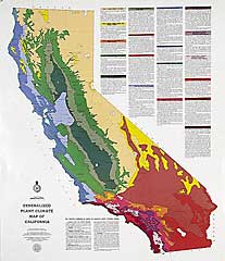 Generalized Plant Climate Map of California<br /><a href=