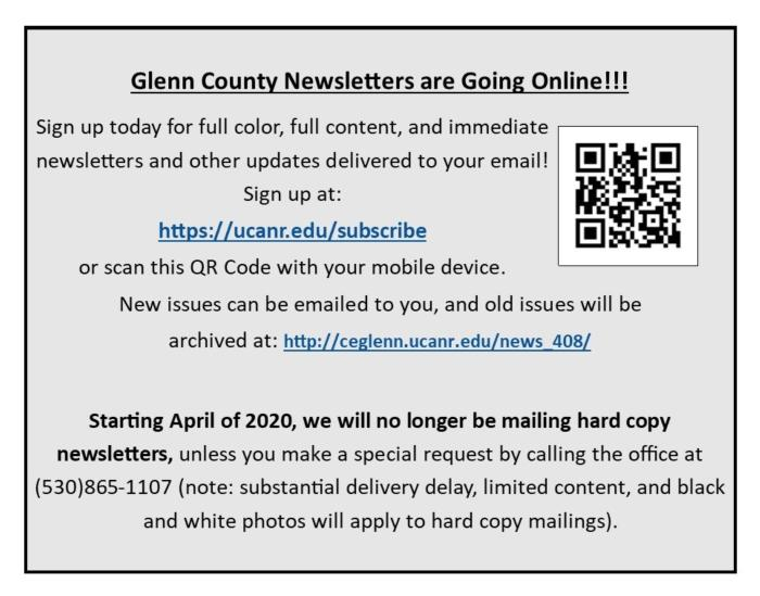 Newsletters are going online image