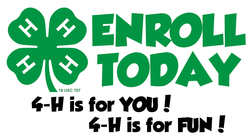 4-H Enroll Today