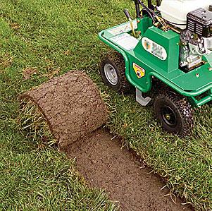Motorized sod cutter