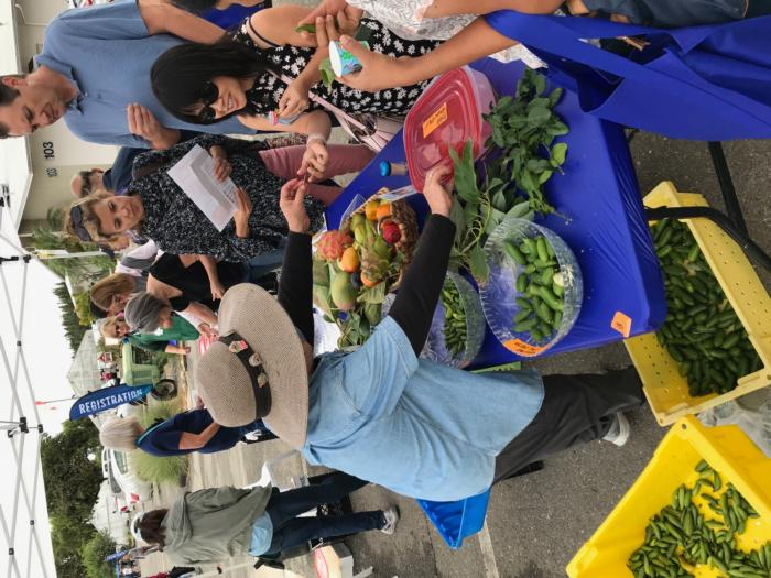 Produce Tasting at Open House