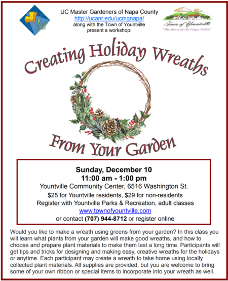 Creating Holiday Wreaths 2017