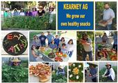 UC ANR staff at Kearney Agricultural Research and Extension Center took first place for Healthy Snack Day 2019.