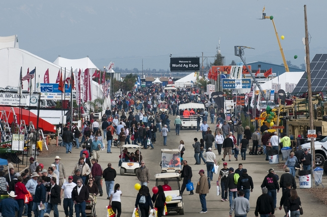 The 2013 World Ag Expo is February 12-14.