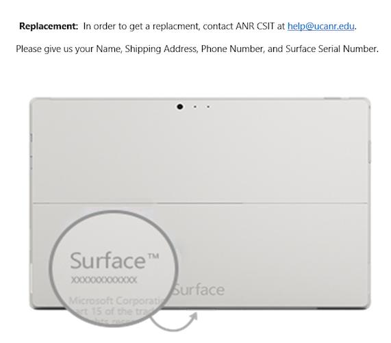 serial number under flap