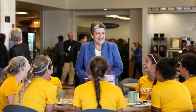 Janet Napolitano says mentoring propelled her career forward and can do the same for you.
