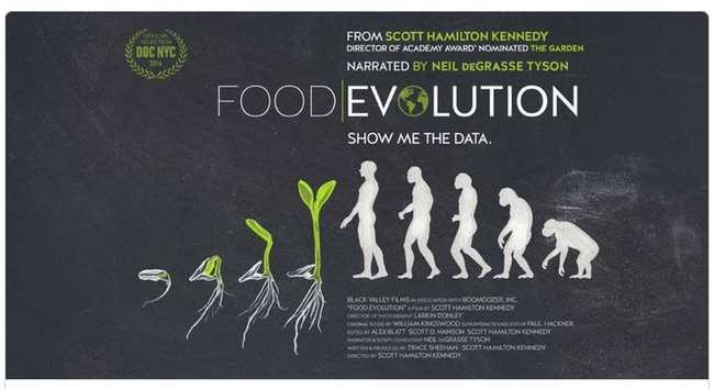 Food Evolution explores food security, sustainability and how to feed an ever-growing population.