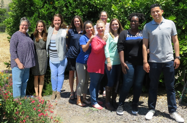 UC Youth Families and Communities Team in San Luis Obispo and Santa Barbara counties