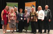UC Master Gardeners who have reached milestones over 5,000 volunteer hours were honored.