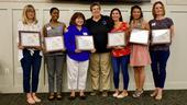 Butte Cluster Nutrition: Jona Pressman, Shyra Murrey, Sonia Rodriguez, Humiston, Alexandra Faulk, Melissa Vang and Rita Palmer.