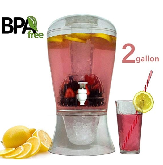 A 'spa water' dispenser will be awarded to the office which submits the best photo of its Healthy Snack Day celebration.