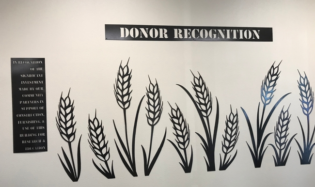 Donors will receive recognition in the entry of the new facility.