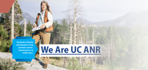 This image of UCCE forestry advisor Susie Kocher is one of four choices for the ANR one-pager. for ANR Report Blog